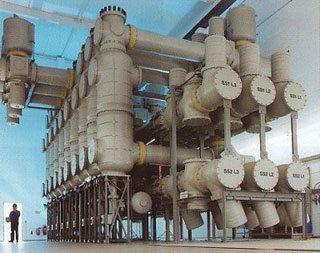 AEG GIS con aislamiento de gas hasta 420 kV