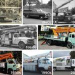 Evolución del camión liniero