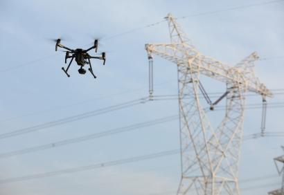 drones-sector electrico