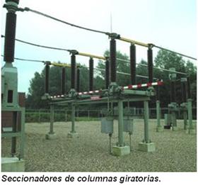 seccionador de columnas