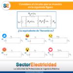 ¿Cuánto sabe de circuitos? De la siguiente figura, su equivalente de Thevenin es:
