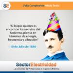 Feliz cumpleaños Nikola Tesla