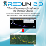 REDLIN 2.3: Exporte sus estructuras eléctricas a Google Earth
