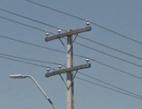Poste urbano con doble circuito2