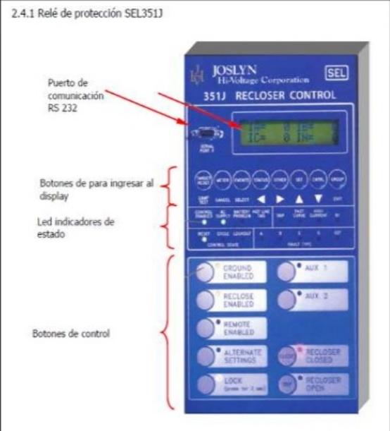 control para reconector joslyn