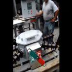Video: Seccionador tripolar bajo carga aereo