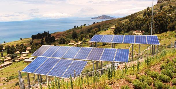 primera gran planta fotovoltaica de Colombia