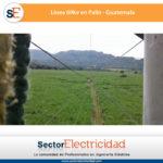 Línea 96kv en Palin - Guatemala