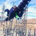 Chile - Limpieza de aislación en la subestación minera