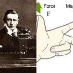 ¿Quien inventó la regla de la mano derecha y como se usa?