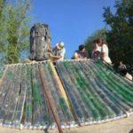 Córdoba: crean termotanques solares con botellas, latas y tetras