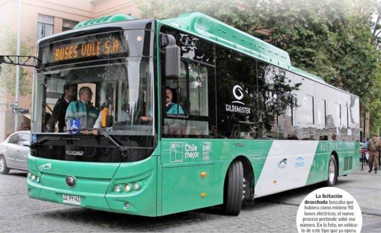 Chile pronto será el segundo país con más buses eléctricos del mundo