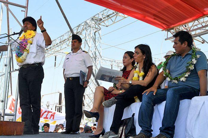 línea de transmisión en bolivia