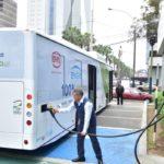 Perú: Bus eléctrico evitó la emisión de 10 toneladas de CO2 en su primer mes