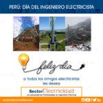 Perú: Día del ingeniero electricista