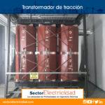 Transformador de tracción 13,8 a 610v en ca