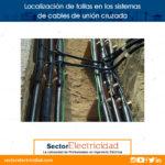 Localización de fallas en los sistemas de cables de unión cruzada