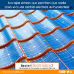 Las tejas solares que permiten que cada casa sea una central eléctrica autosostenible