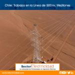 Chile: Trabajos en la Línea de 500 kv, Mejillones
