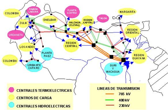 mapa-centrales-electricas-venezuela
