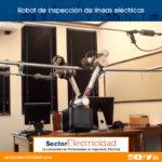 Video: Robot de inspección de líneas eléctricas - maniobras autónomas