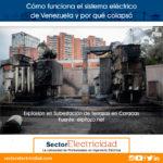 Cómo funciona el sistema eléctrico de Venezuela y por qué colapsó