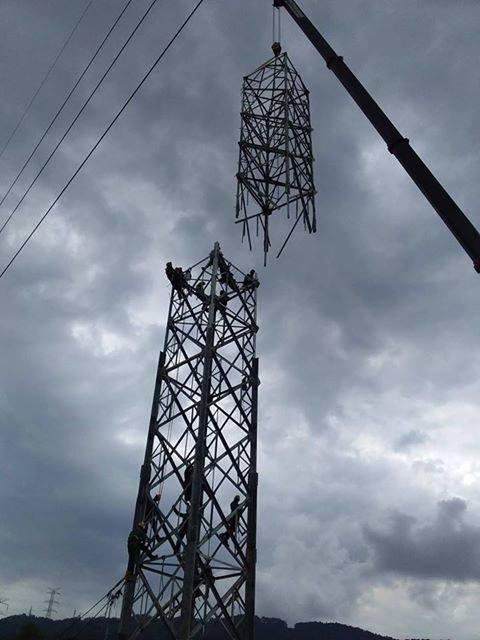 montaje de torre