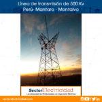 Línea de transmisión de 500 Kv Mantaro - Montalvo