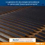 """La generación de energía renovable se ha estancado """"preocupantemente"""""""